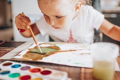 Децата, книгите и творчеството